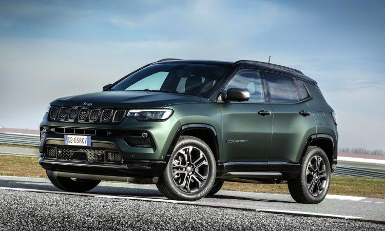 Jeep Compass 80 Anos Europa [divulgação] 2022