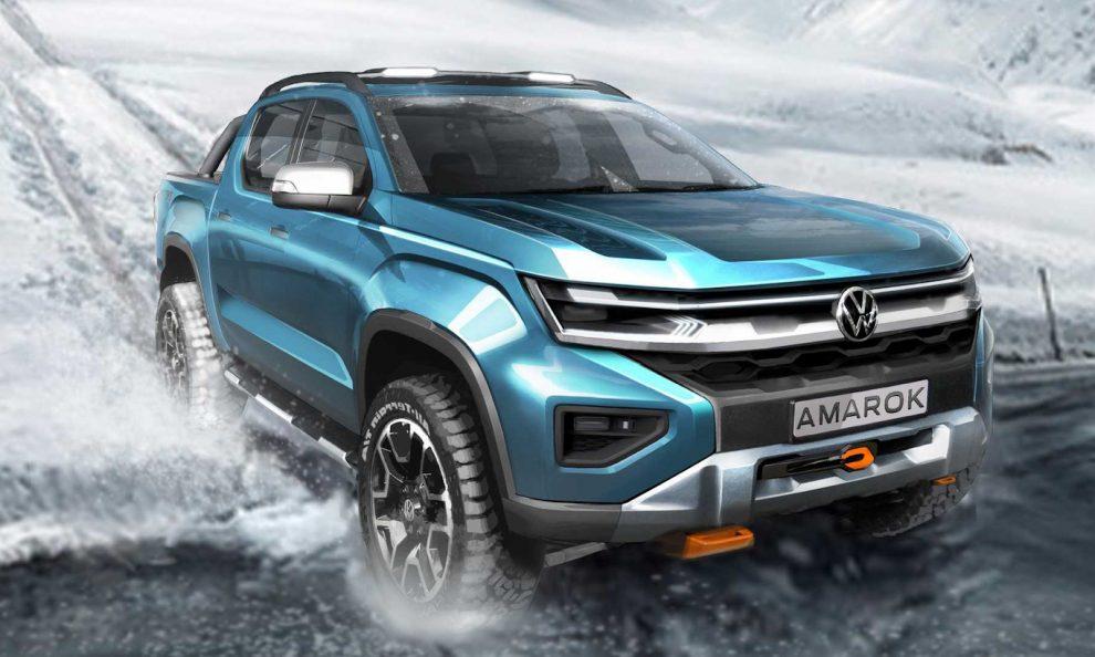 Volkswagen Amarok 2022 [divulgação]