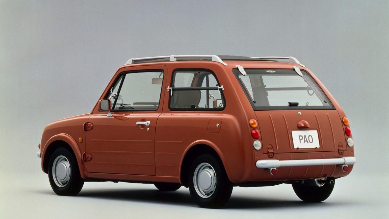 Nissan Pao [divulgação] carros