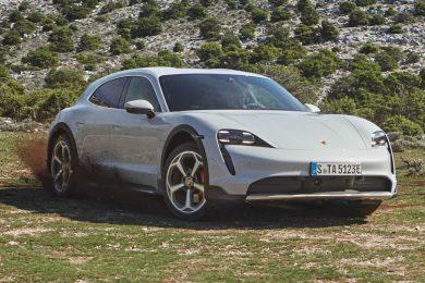 Porsche Taycan Cross Turismo [divulgação]