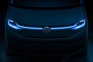 Volkswagen Transporter 2022 teaser [divulgação]Kombi
