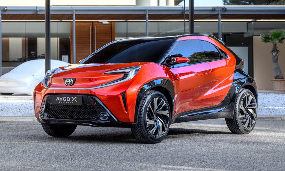 SUV Toyota Aygo X Prologue [divulgação]