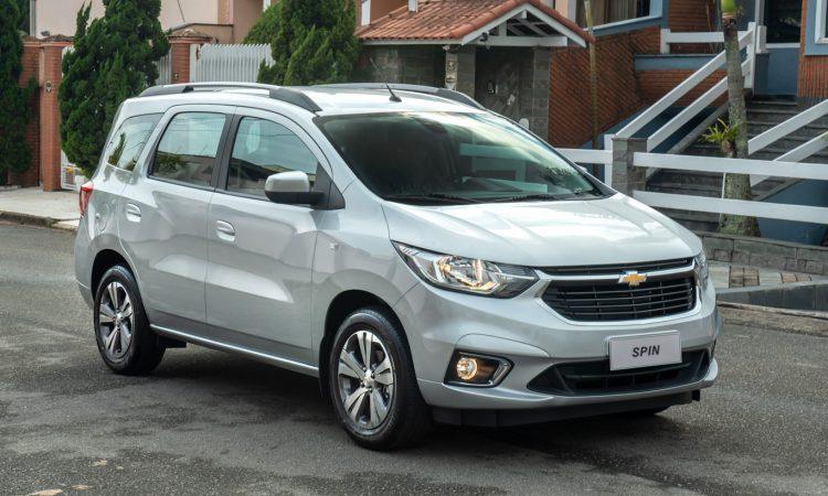 Chevrolet Spin 2022 [divulgação]