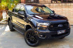 Ford Ranger Black [Auto+ / João Brigato]