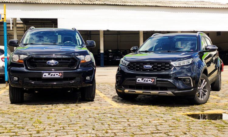 Ford Ranger Black vs Ford Territory SEL [Auto+ / João Brigato]