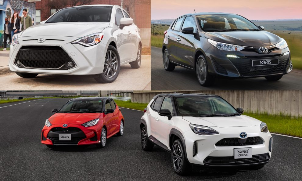 Toyota Yaris [divulgação]