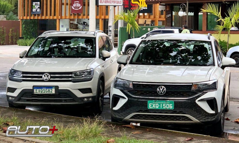 Volkswagen Taos e Tharu [Ricardo Protasio / Auto+]