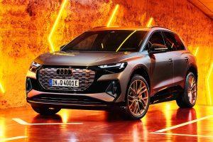 Audi Q4 e-tron [divulgação]