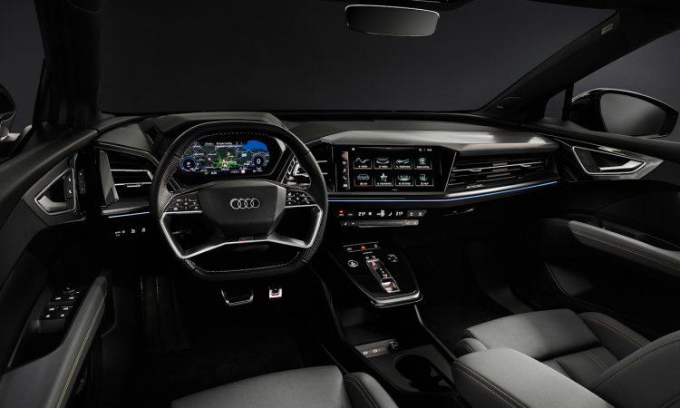 Audi Q4 e-tron Sportback [divulgação]