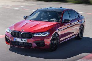 BMW M5 Competition [divulgação]