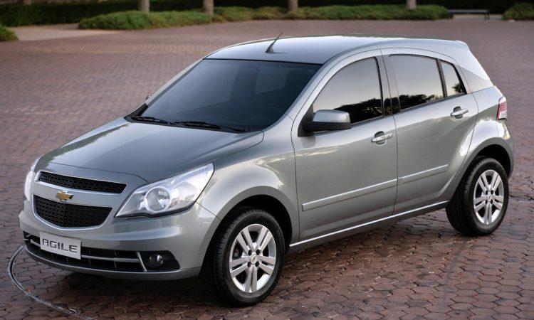 Chevrolet Agile [divulgação] carros polêmica