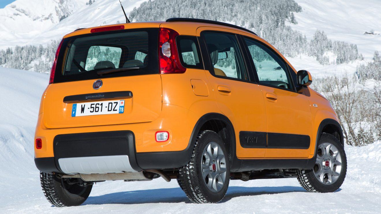 Fiat Panda 4x4 [divulgação]