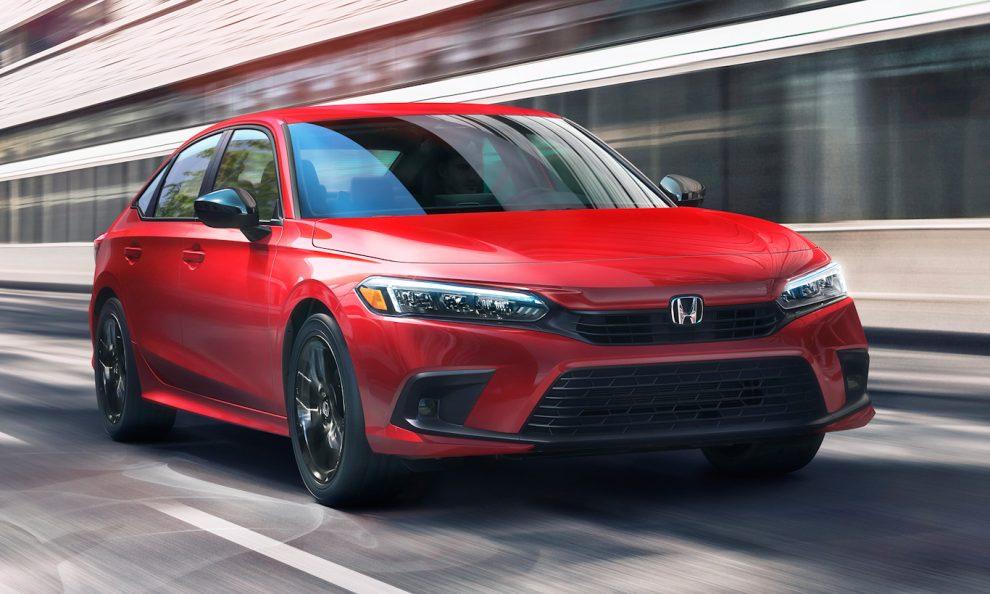 Honda Civic 2022 [divulgação]