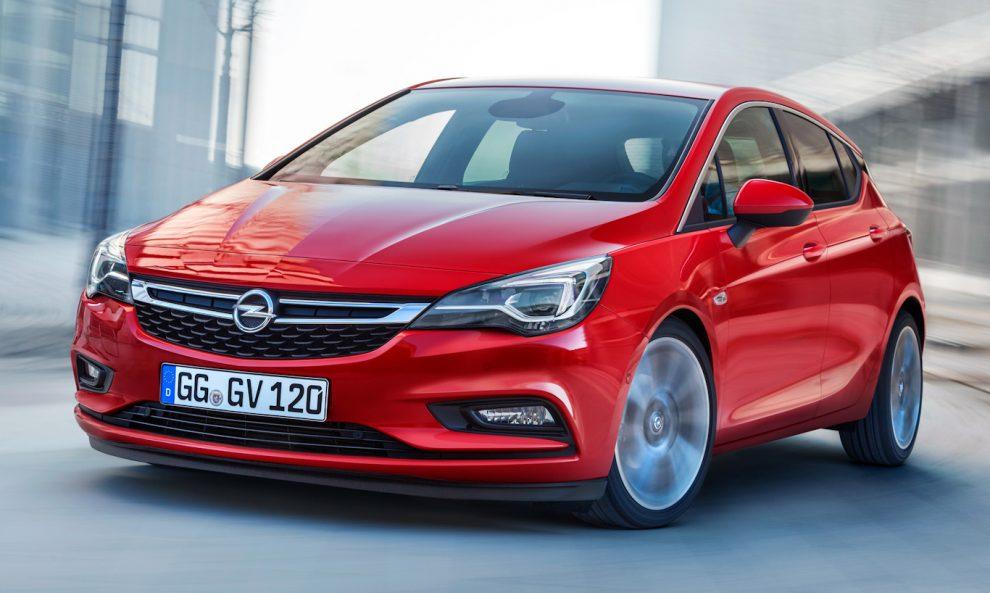 Opel Astra (atual geração) [divulgação]