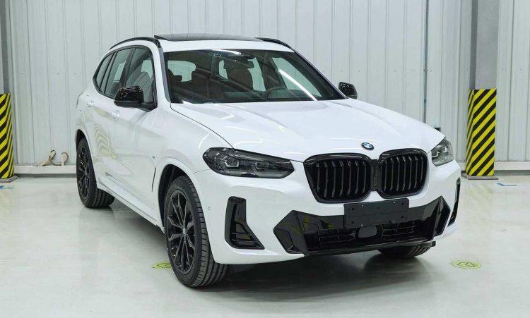BMW X3 2022 [Ministério de Patentes da China]