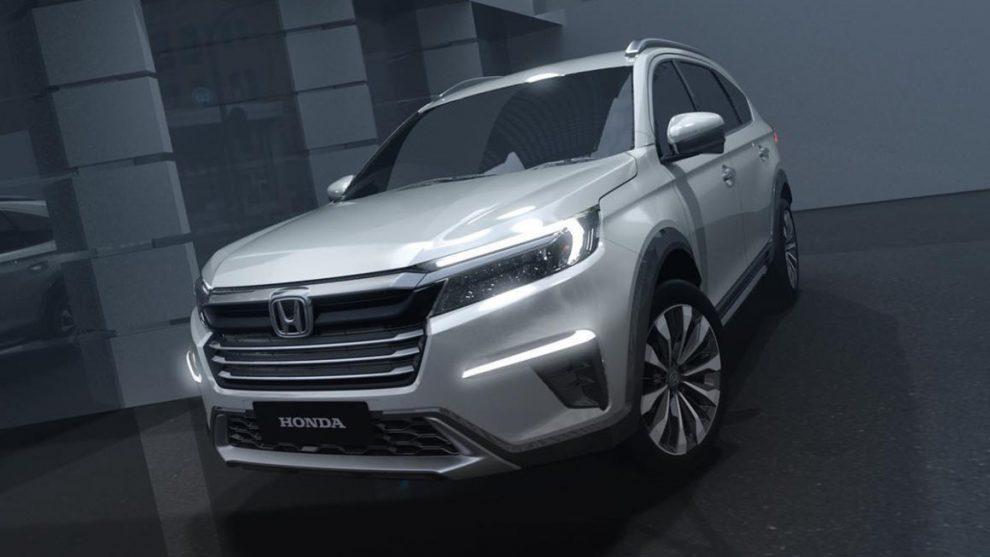 Honda N7X [divulgação] 7 lugares
