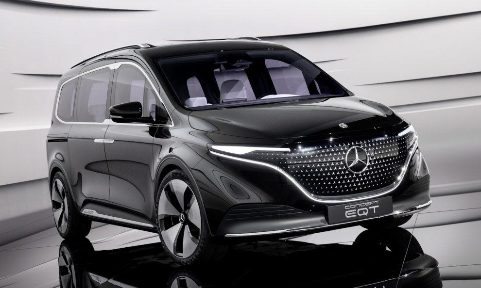 Mercedes-Benz EQT [divulgação] Renault Kangoo