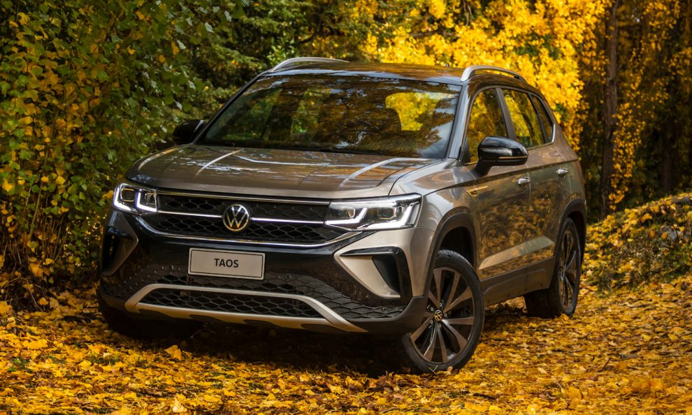Volkswagen Taos [divulgação]