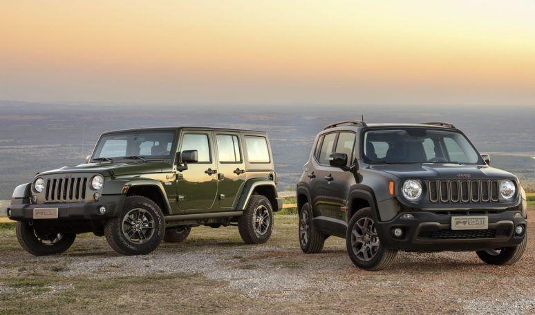 Jeep Wrangler e Renegade [divbulgação] carros