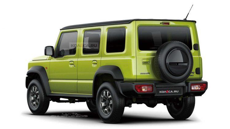Suzuki Grand Jimny/ Jimny Long [kolesa.ru]
