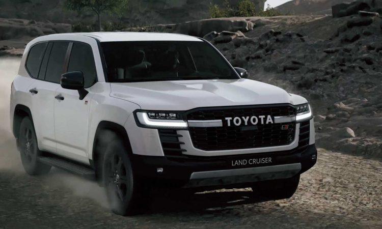 Toyota Land Cruiser 2022 [divulgação]