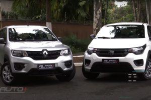 Renault Kwid e Fiat Mobi [Auto+] Carro mais barato do Brasil