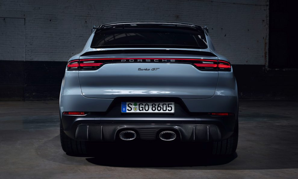 Porsche Cayenne Turbo GT [divulgação]