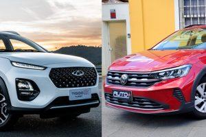 CAOA Chery Tiggo 3X vs Volkswagen Nivus [divulgação]