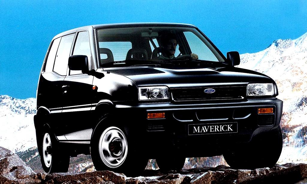 Ford Maverick 1993 [divulgação]