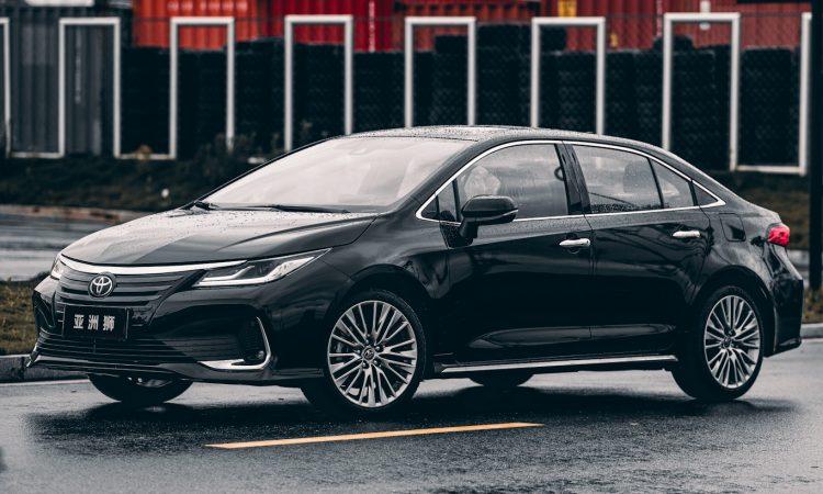 Toyota Allion [divulgação]