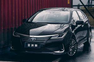 Toyota Allion [divulgação] Corolla