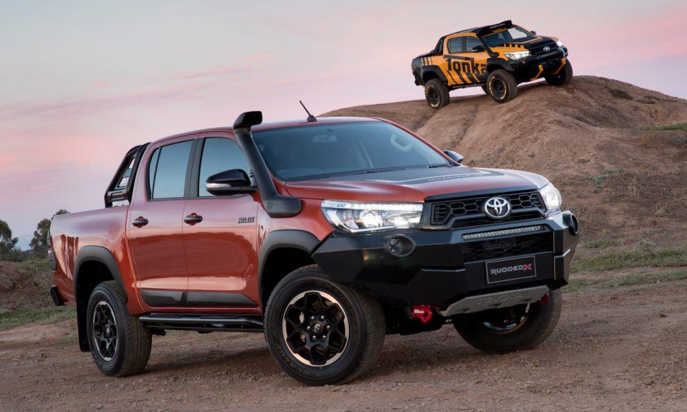 Toyota Hilux Rugged X [divulgação]