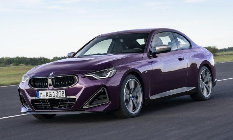 BMW Série 2 2022 [divulgação]