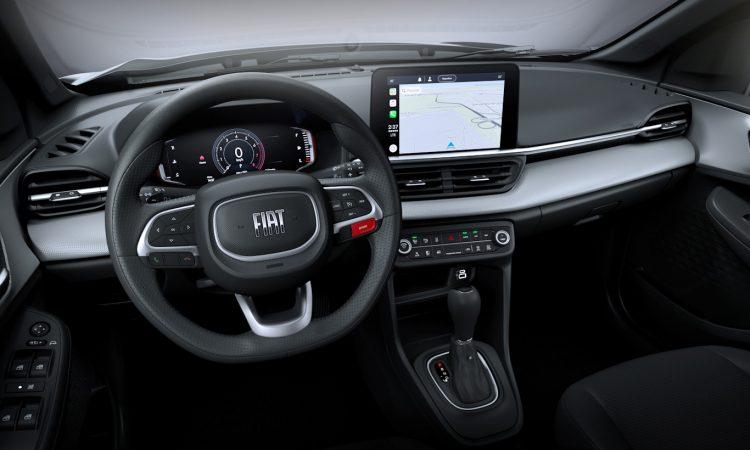 Interior Fiat Pulse [divulgação]