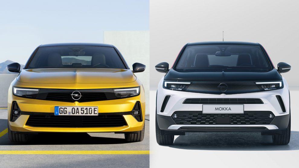 Opel Astra e Mokka [divulgação]