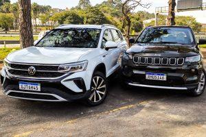 Volkswagen Taos vs Jeep Compass [Auto+ / João Brigato]