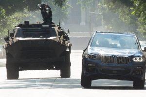 BMW X3 no filme Viúva Negra [divulgação]