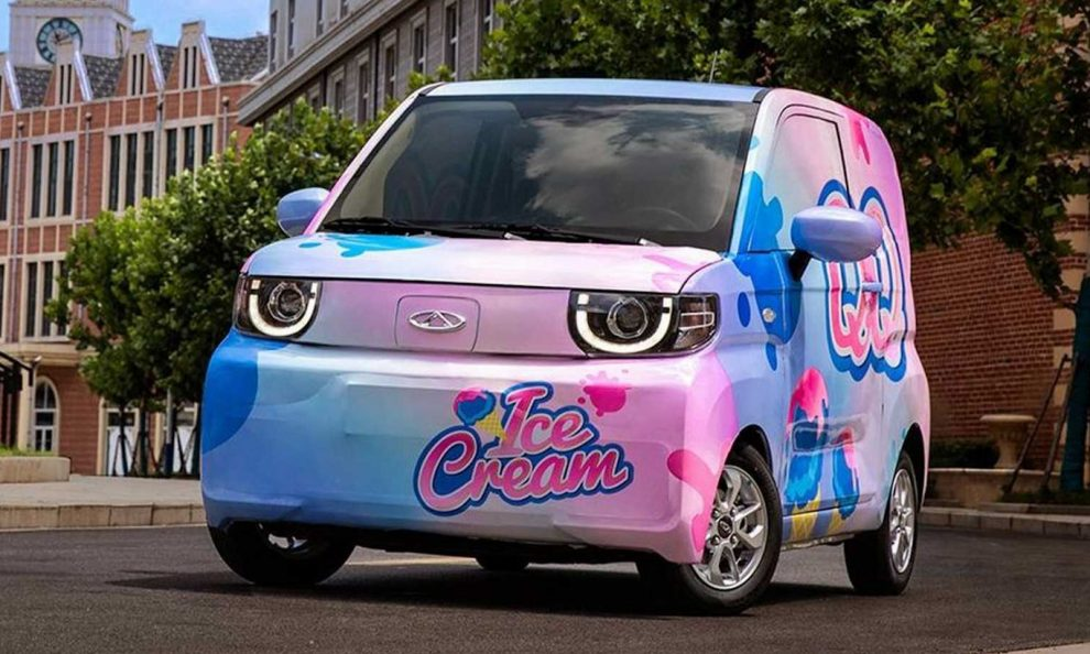 Chery QQ Ice Cream elétrico [divulgação]