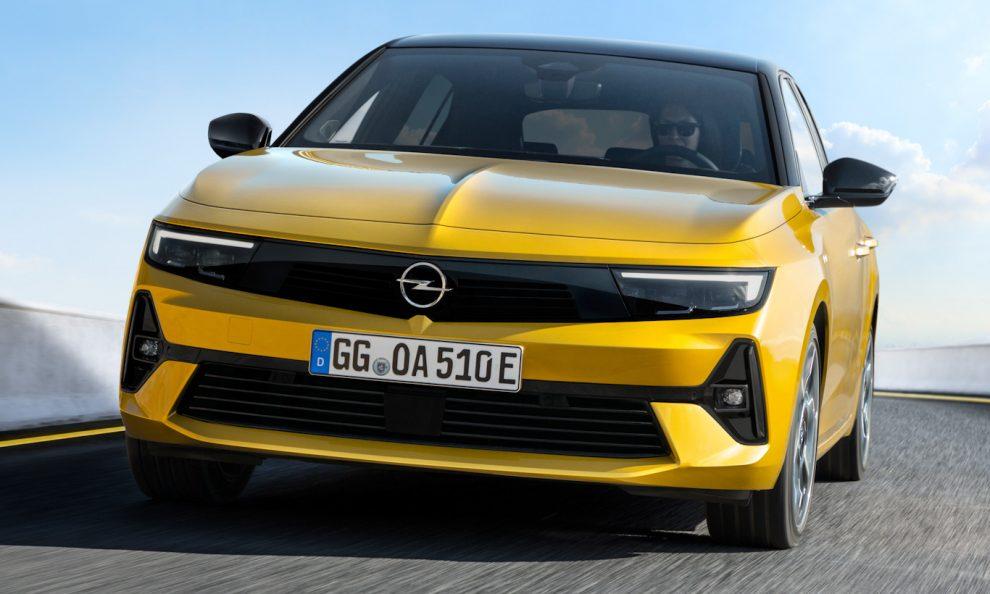 Opel Astra 2022 [divulgação]