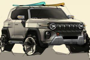 SsangYong X200 [divulgação] Jeep Renegade