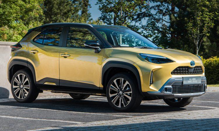 Toyota Yaris Cross [divulgação]