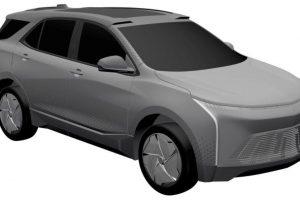Chevrolet Equinox Elétrico [Ministério de Patentes China]