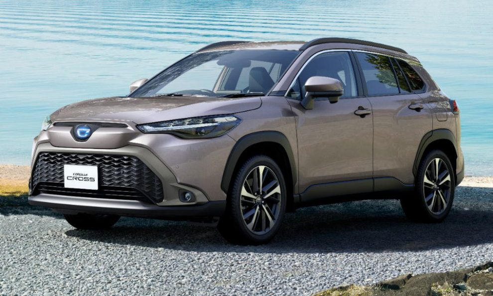 Toyota Corolla Cross JDM-Spec [divulgação]