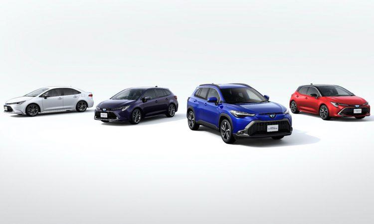 Família Corolla japonesa [divulgação]