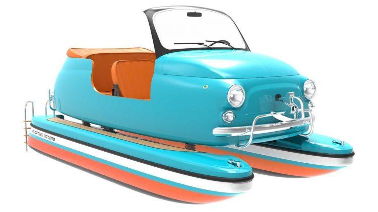 Fiat 500 barco [Floating Motors]