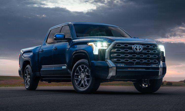 Toyota Tundra Platinum [divulgação]