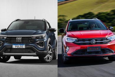 Fiat Pulse Impetus vs Volkswagen Nivus Highline [divulgação]