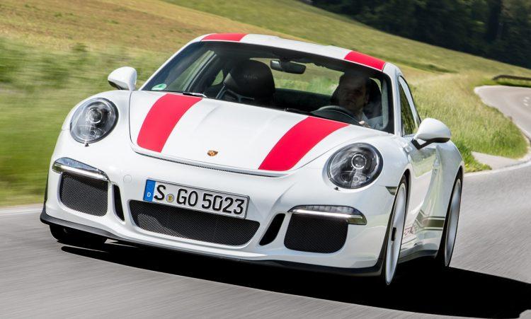 Porsche 911R [divulgação]