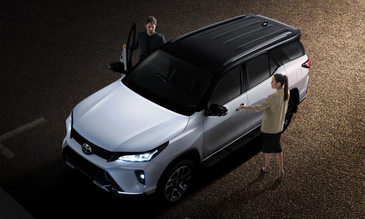 Toyota Fortuner Legender [divulgação]