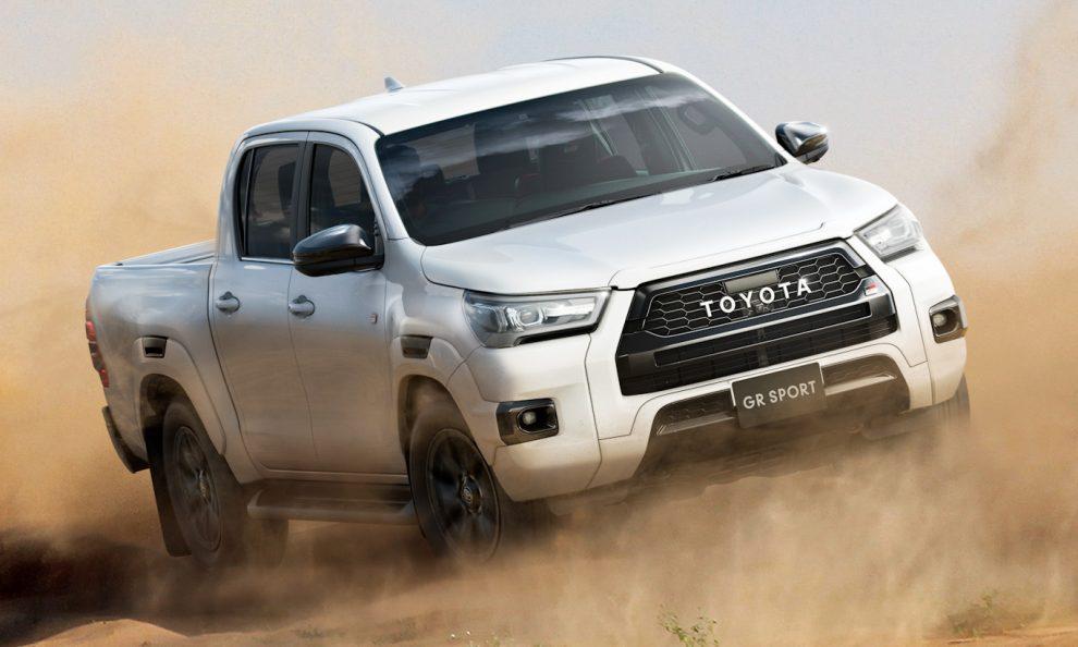 Toyota Hilux GR Sport [divulgação]